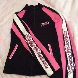 Like new size s Harley Davidson zip up.